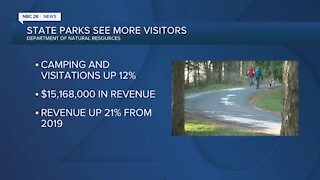 State parks see more visitors