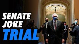 Senate Kabuki theater and a joke impeachment trial