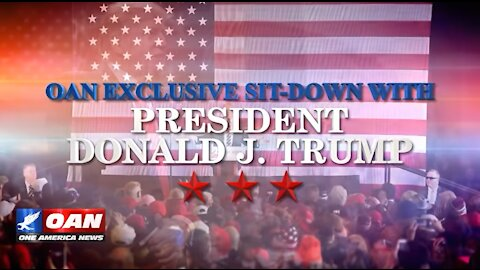 President Donald J. Trump OAN Exclusive Interview w/ Chanel Rion
