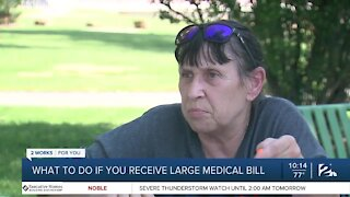 What to do if you receive a large medical bill