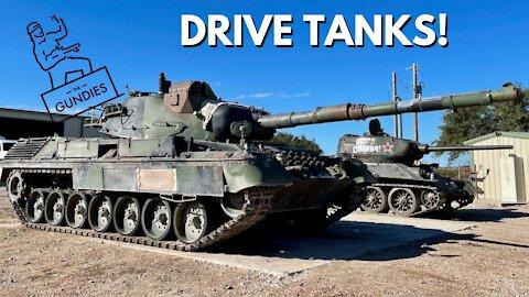 Drive and Shoot Tanks! Gundies Range Day Recap