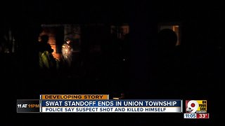 Clermont County SWAT standoff ends