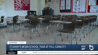 Sweetwater District students go back to school
