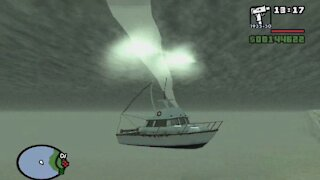 Gta: San Andreas - Something is wrong with the water...