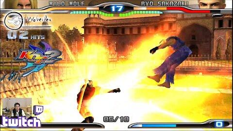 (PS2) KOF Maximum Impact 2 - 25 - Hard Challenge - Level 6