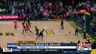14 points, 6 blocks for Yor Anei as Oklahoma State upsets Baylor, 67-64