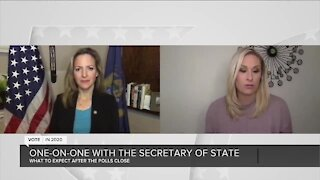 One-on-one with Secretary of State Jocelyn Benson ahead of Election Day