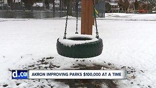 Akron spending hundreds of thousands to improve neighborhood parks