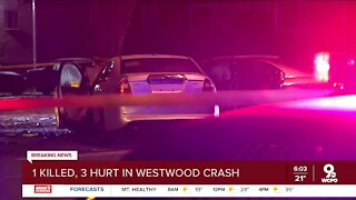 CPD: 1 killed, 3 seriously hurt in Westwood crash