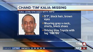 Cape Coral man Tim Kalia reported missing Wednesday