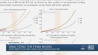 Analyzing the FEMA models for COVID-19