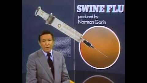 Mike Wallace 60 Minutes Exposes Swine Flu Pandemic Vaccine Fallout of 1976