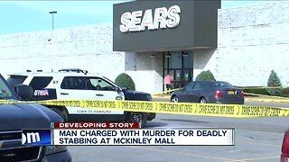 Man charged with murder for deadly stabbing at McKinley Mall