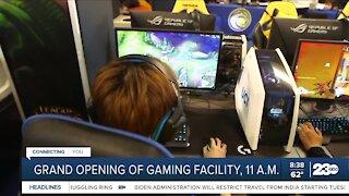 Grand opening of gaming facility