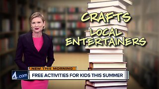 Four free activities for kids this summer