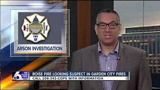 Boise Fire investigating Garden City grass fires