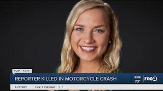 NBC2 reporter passes away in accident