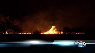 Border Patrol Agent charged for starting Sawmill Fire
