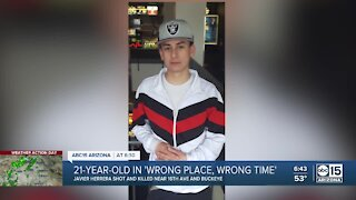 Reward offered after 22-year-old shot while riding bicycle in south Phoenix