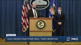 DOJ investigation of DC riot will take months