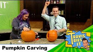 Travis Tries It: Pumpkin Carving
