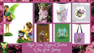Teelie's Fairy Garden   Meet Some Magical Fairies Who Love Spring   Teelie Turner