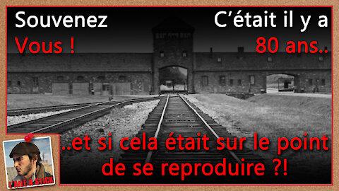 2021/053 Il y a 80 ans les mensonges et manipulations ont permis l'extermination de millions...