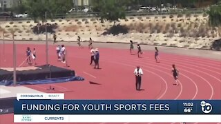 Funding for San Diego youth sports fees