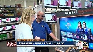 Streaming Super Bowl LIV in 4K