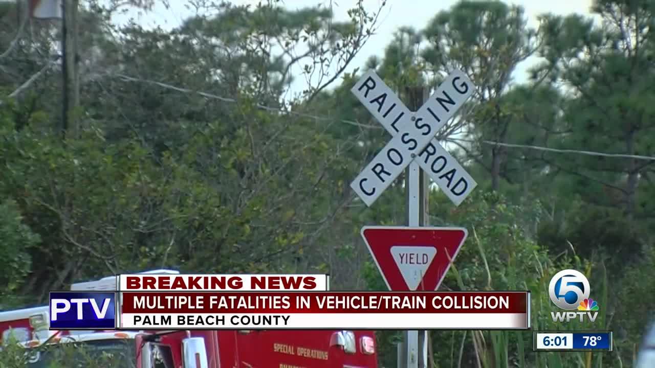 Train crash 6 p.m.