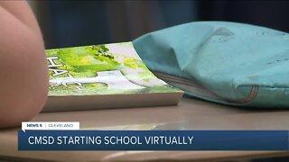 CMSD starting school virtually