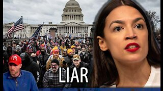 AOC Gets Caught LYING About Being in the Capitol Building During Siege