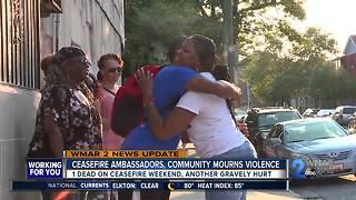 Ceasefire Ambassadors, community mourns violence