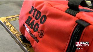 Omaha Fire Department receives Fido bags