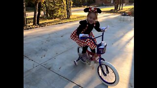 Minnie Mouse Costume Halloween 2020 Outdoors