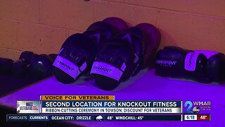 Knockout Fitness opens in Towson offering veterans discount