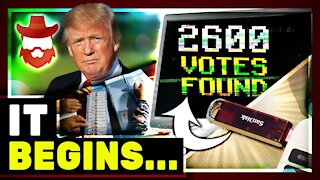 """Georgia """"FINDS"""" Thousands Of Uncounted Votes & Wisconsin Recount Will Cost 7 Million"""