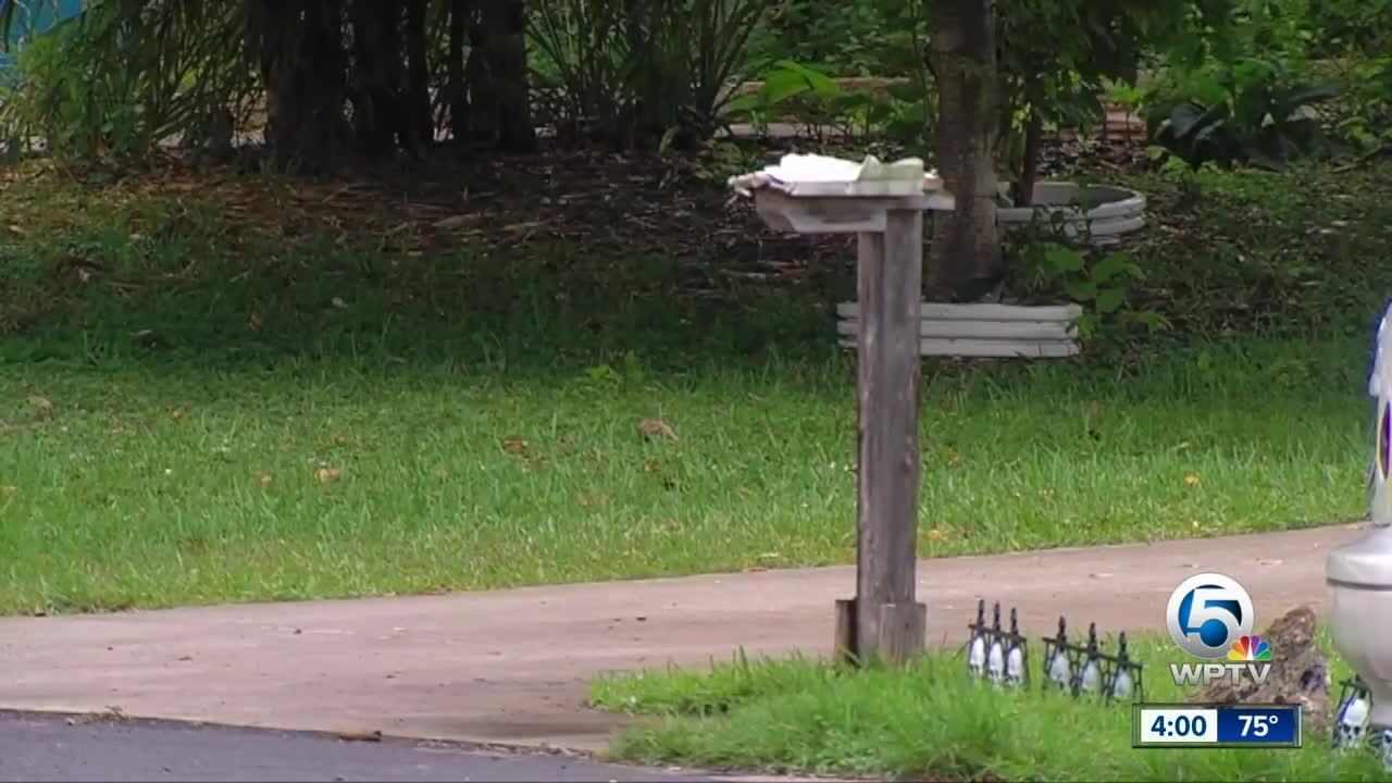 Woman concerned after Boynton Beach mailbox blown up
