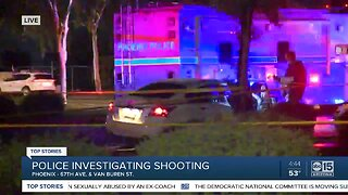 Police investigating shooting near 67th Avenue and Van Buren Street