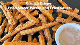 Crunch Crispy Fried Sweet Potato and Fried Sauce/酥脆炸地瓜