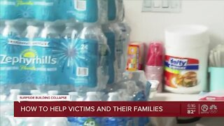 How to help Surfside victims and their families