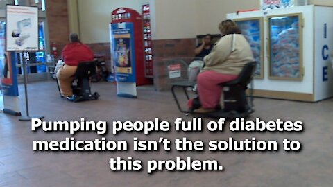 Thanks to FDA, Lazy Americans Can Take Diabetes Medication to Lose Weight Instead of Living Healthy