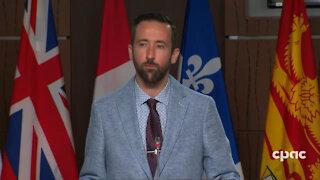 MP Derek Sloan Raises Concerns About Censorhip of Doctors & Scientists