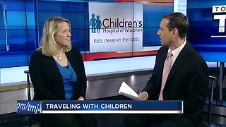 Traveling with children and keeping them healthy