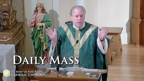 Fr. Richard Heilman's Sermon for Thursday Oct. 14, 2021