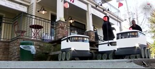 Robot deliveries during COVID-19 pandemic