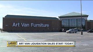 Art Van liquidation sales begin Friday after closure announcement