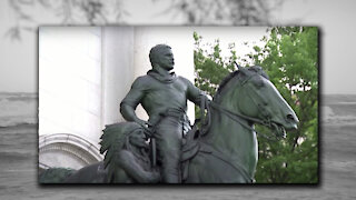 Removing the Teddy Roosevelt Statue