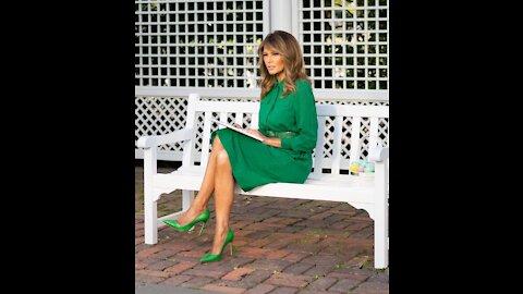 Melania Trump Reads Kid's Book on Easter 2020