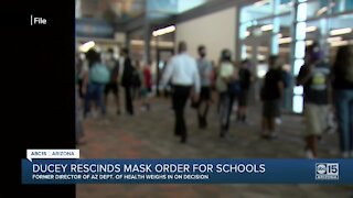 Governor Ducey rescinds mask requirements for Arizona schools